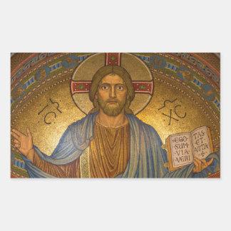 Etiquetas religiosas do Natal do Jesus Cristo