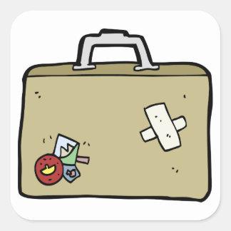 Etiquetas remendadas da bagagem