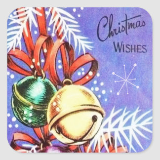 Etiquetas retros do feriado do Natal do vintage