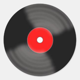 Etiquetas retros vermelhas do partido do registro