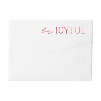 Etiquetas Seja feriado vermelho e branco alegre de |