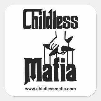 Etiquetas sem crianças da máfia