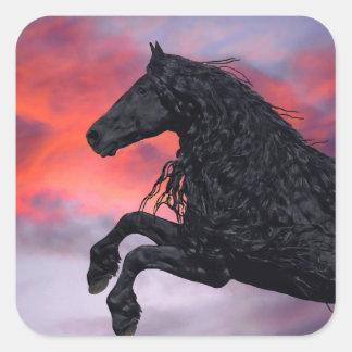 """Etiquetas """"subindo"""" do cavalo"""