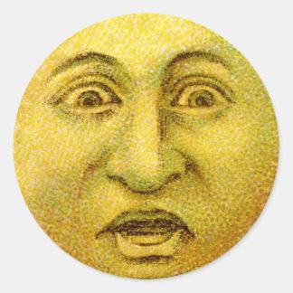 Etiquetas temíveis do Dia das Bruxas da lua