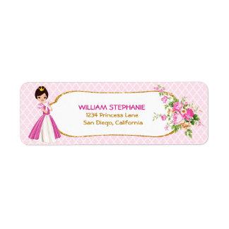 Etiquetas triguenhas bonito da princesa endereço