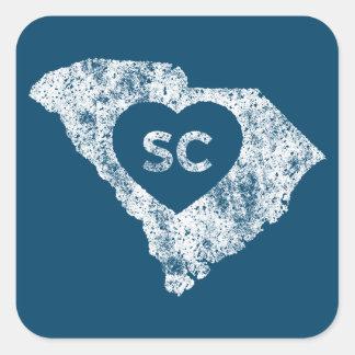 Etiquetas usadas do estado de South Carolina do