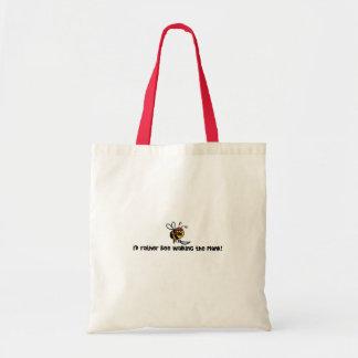 Eu abelha da preferencialmente que anda a prancha bolsas para compras