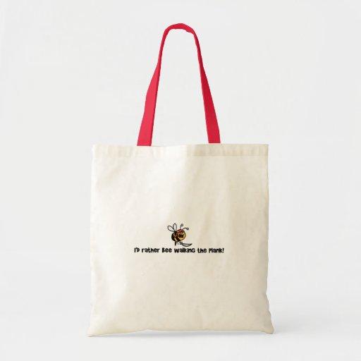 Eu abelha da preferencialmente que anda a prancha! bolsas para compras