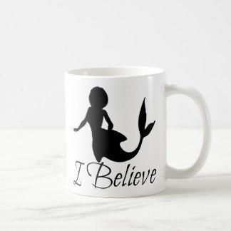 Eu acredito a caneca da sereia