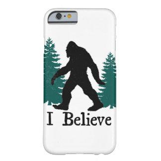 Eu acredito! capa barely there para iPhone 6