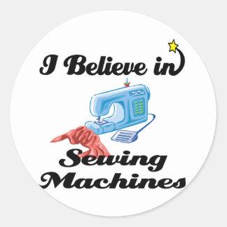 eu acredito em máquinas de costura adesivo