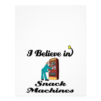eu acredito em máquinas do petisco panfletos coloridos