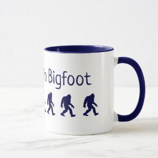 Eu acredito na caneca de café de Bigfoot