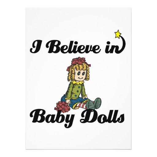 eu acredito nas bonecas convite personalizados