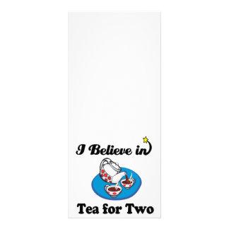 eu acredito no chá para dois modelos de panfletos informativos