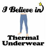 eu acredito no roupa interior térmico fotoescultura