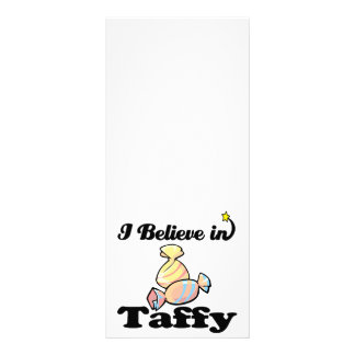 eu acredito no taffy 10.16 x 22.86cm panfleto