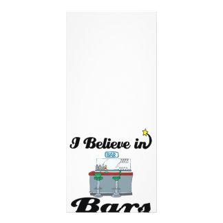 eu acredito nos bares 10.16 x 22.86cm panfleto