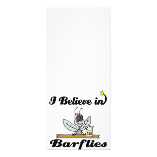 eu acredito nos barflies 10.16 x 22.86cm panfleto