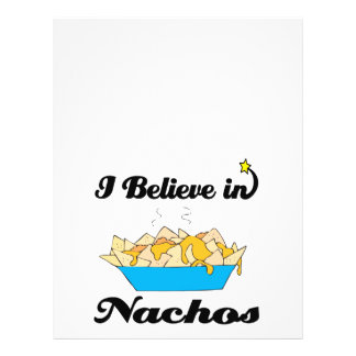 eu acredito nos nachos panfletos coloridos