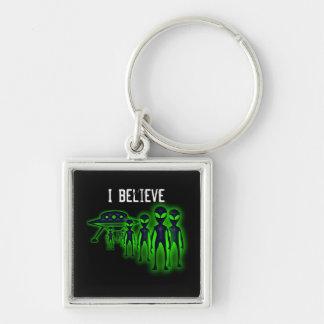 Eu acredito o chaveiro do UFO e dos aliens