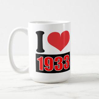 Eu amo 1933 - canecas
