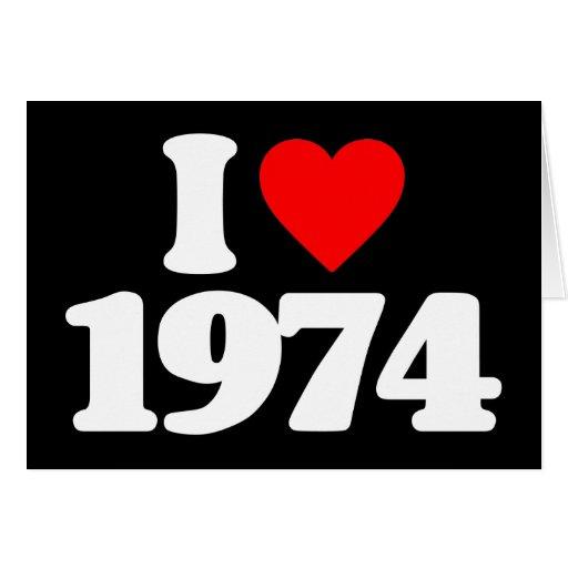 EU AMO 1974 CARTÕES