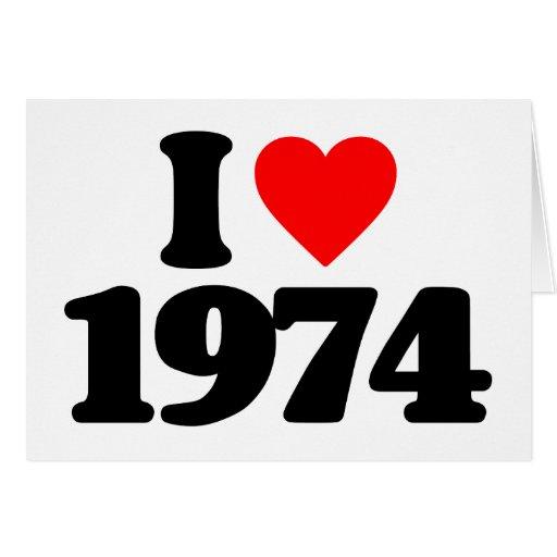 EU AMO 1974 CARTOES