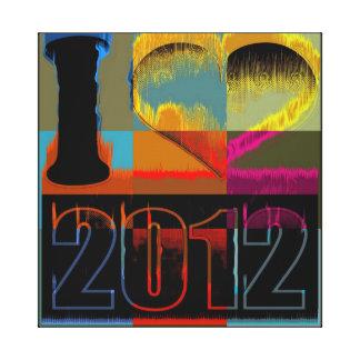 Eu amo 2012 - canvas das belas artes