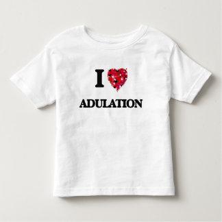 Eu amo a adulação camiseta