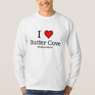 Eu amo a angra da manteiga tshirts