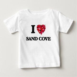 Eu amo a angra Wisconsin da areia Tshirts