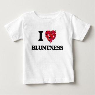 Eu amo a aspereza camisetas