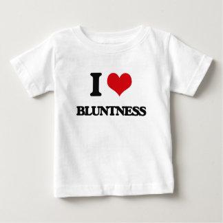 Eu amo a aspereza tshirts