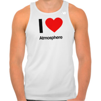 eu amo a atmosfera t-shirt