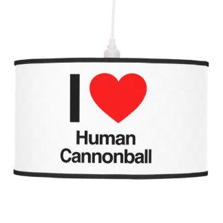 eu amo a bala de canhão humana