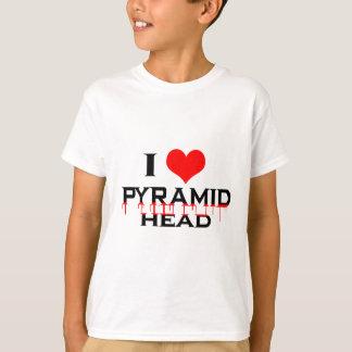 Eu amo a cabeça da pirâmide camiseta
