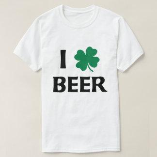 Eu amo a camisa da cerveja