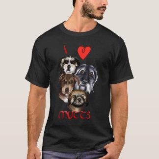 Eu amo a camisa das vira-latas