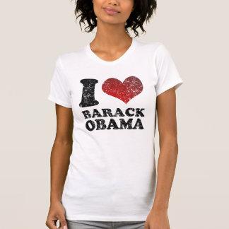 Eu amo a camisa de Barack Obama t