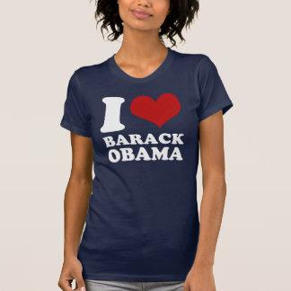 Eu amo a camisa de Barack Obama t (limpo)