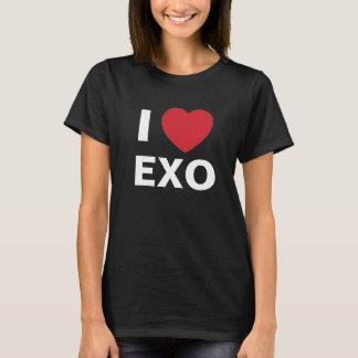 Eu amo a camisa de Exo T (o preto)