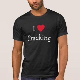 Eu amo a camisa de Fracking