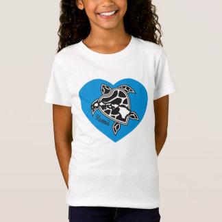 Eu amo a camisa de Havaí - tartaruga das ilhas de