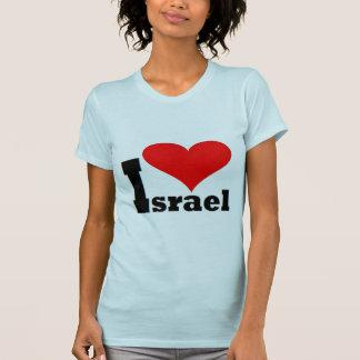 Eu amo a camisa de Israel T-shirt