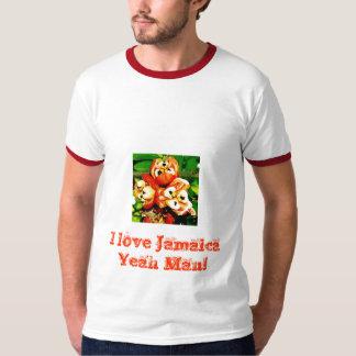 Eu amo a camisa de Jamaica Camisetas
