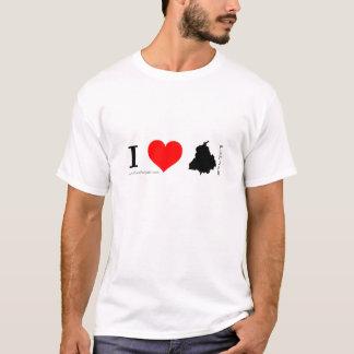 Eu amo a camisa de Punjab