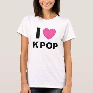 Eu amo a camisa do POP T de K