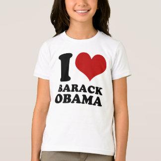 Eu amo a camisa dos miúdos t de Barack Obama