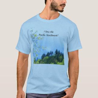 Eu amo a camisa noroeste pacífica